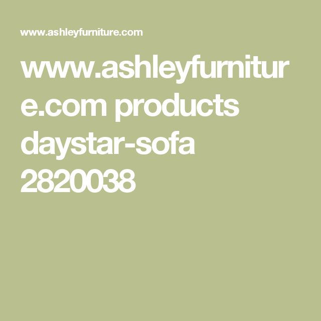 www.ashleyfurniture.com products daystar-sofa 2820038