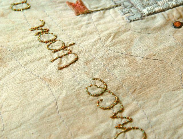 The Textile Cuisine: Custom orders welcome! / Tkanina artystyczna szyta na miarę