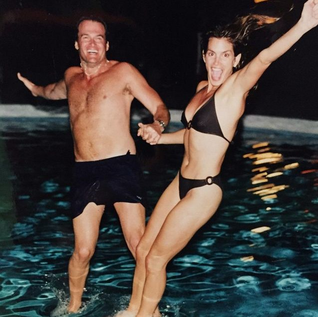Aww!: Cindy Crawford Celebrates 17th Anniversary with Rande Gerber With Cute Throwback Pic