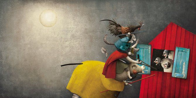 Artworks by Mexican illustrator Luis Gabriel Pacheco