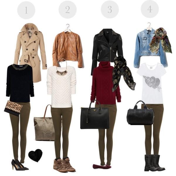 """Khaki skinny jeans"" by estefi on Polyvore"