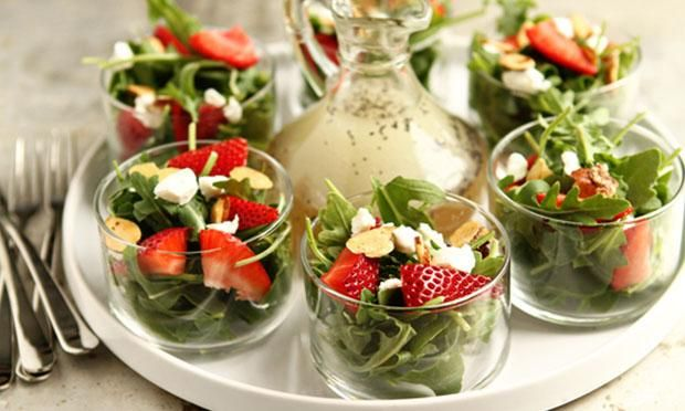 Salada de morango