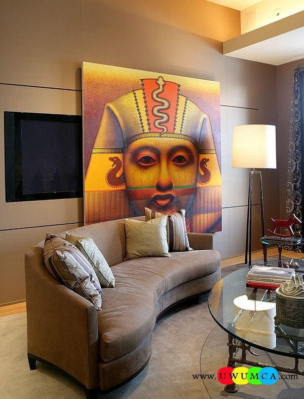 Decoration:Cheap Lamps Tripod Base Floor Bedside Ikea Lamp Shade Stage Wood Wooden Table Lighting Work Lights Shinto Tripod Floor Lamp And The Wall Track System With Egyptian Themed Painting Steal The Show Here Antique Tripod Lamps Base for A Brilliant Interior Design Style