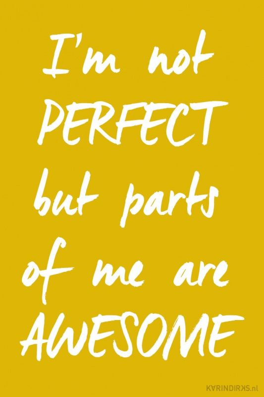 Canvas: I'm not perfect but parts of me are awesome
