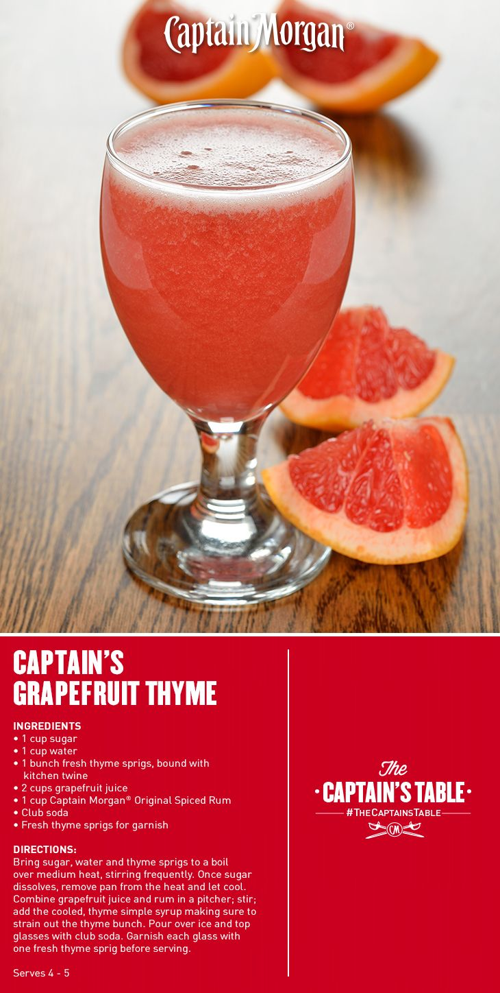 Captain morgan drink oppskrift