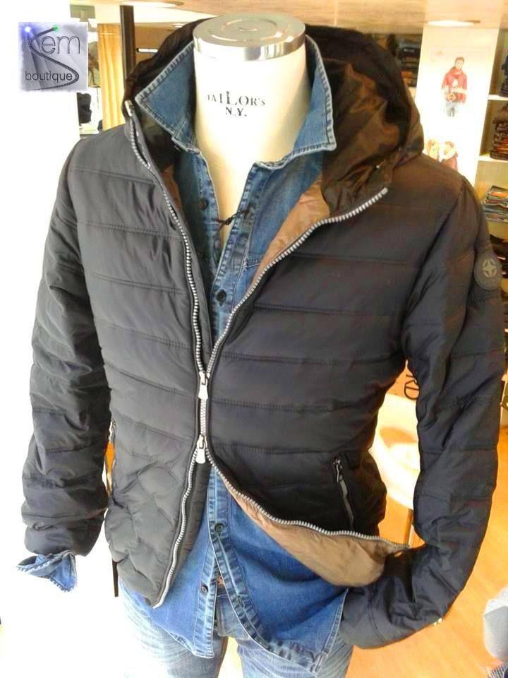 In Store: fall winter 2014.15 - piumino RETRO' - camicia SSEINSE https://www.facebook.com/semboutique.it