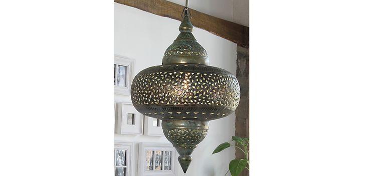 Moroccan Antique-Style Pendant