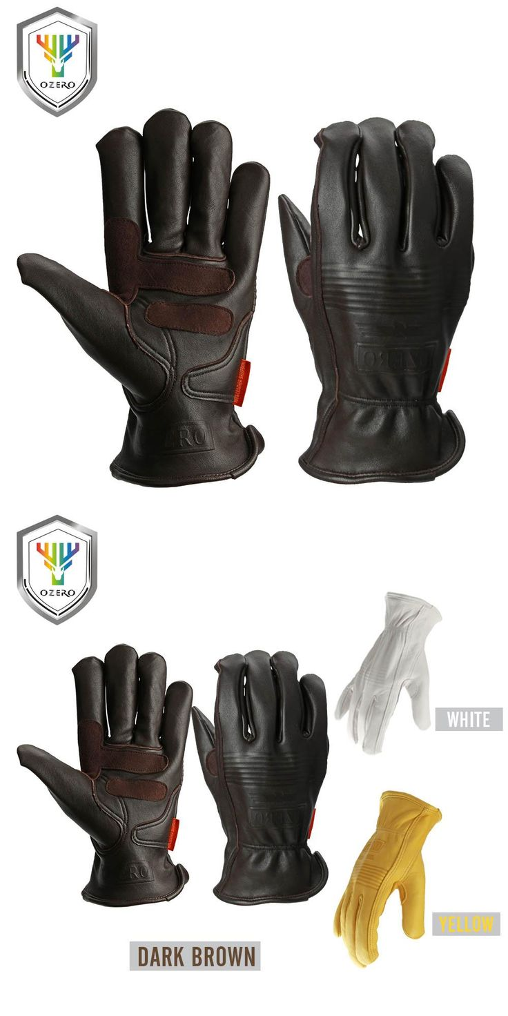 Leather work gloves for welding -  Visit To Buy Ozero Safety Gloves Working Hand Type Gloves Protective Welding Garden