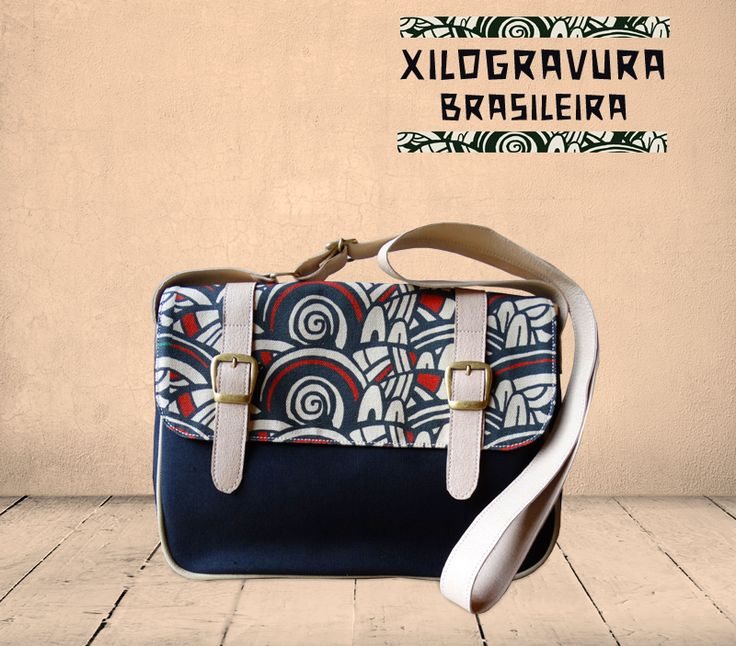 Xylograph bag by Art Brasilis. . Available exclusively at http://kulturebox.co.za in South Africa. #fairtrade #handmade #cotton #exclusive #southafrica