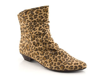 lovely leopard print boots