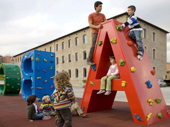 Rocódromo para parque infantil JBULNPE-A Benito