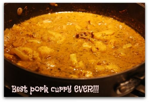 Enjoy this pork curry recipe as part of your low carb diet plan. Just a few ingredients make it quick and easy while providing a powerful taste experience. Not too hot yet not too mild, just right