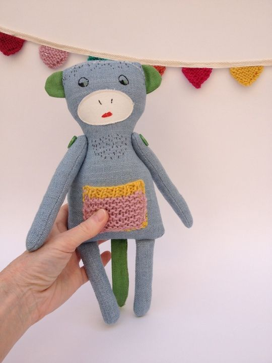 Blue Linen Monkey