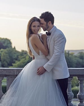 Ricki-Lee Coulter shares candid moments from her French wedding, one year on. - Instagram/@therickilee