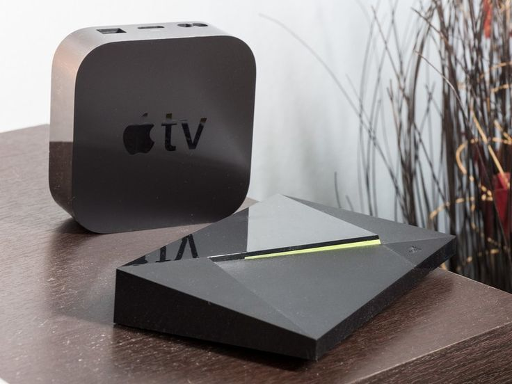 NVIDIA Shield TV vs. Apple TV 4K: Which should you buy?      Spoiler: The specs don't matter as much as which platform you live in, and which streaming services you use. https://www.androidcentral.com/nvidia-shield-tv-vs-apple-tv-4k?utm_campaign=crowdfire&utm_content=crowdfire&utm_medium=social&utm_source=pinterest