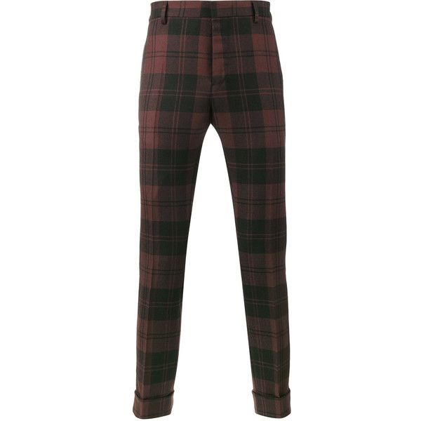 Valentino tartan trousers (960 CAD) ❤ liked on Polyvore featuring men's fashion, men's clothing, men's pants, men's casual pants, red, mens tartan plaid pants, mens red pants, mens checkered pants, mens plaid pants and mens elastic waistband pants