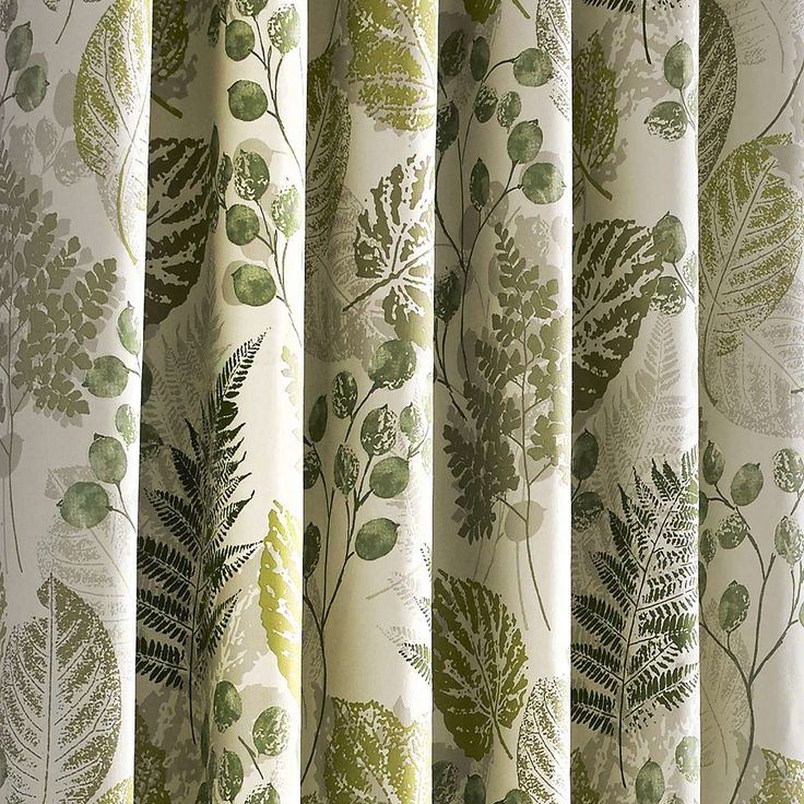 Green new forest lined eyelet curtains dunelm lounge for Forest green curtains drapes