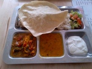 Good food and excellent value at the Punjabi women's kitchen