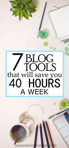 During my 2 years of blogging, I've come with a list of tools which saved me up to 40 hours a week. Crazy eh?? Try it yourself and voila! 40 extra hours a week!