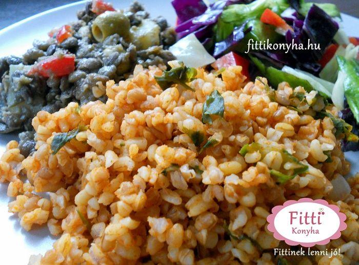 Bulgur magyarosan - Török rizs