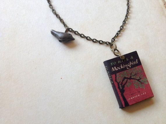 To Kill a Mockingbird Necklace | 37 Ways To Proudly Wear Your Love Of Books