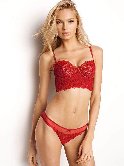 4a5004f3ac5 Chantilly Lace Strapless Bustier