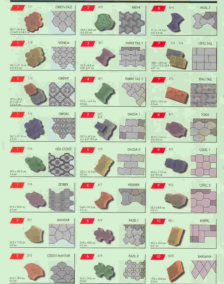 Plastic Moulds For Making Interlocking Concrete Pavers AG 0008