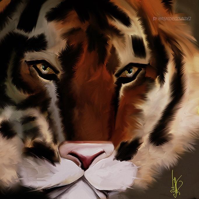 """""""Tiger"""" 2013 by Diego Valdez"""