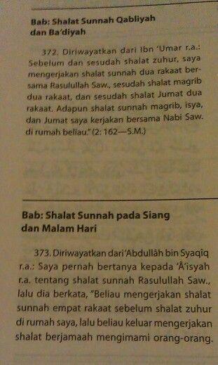 Shalat Sunnah (1)