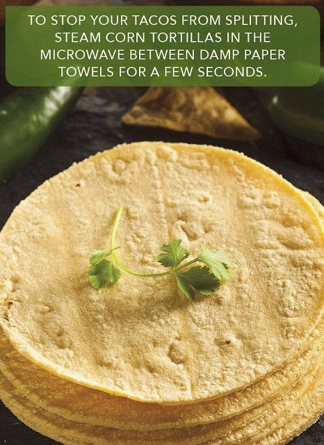 Happy Home Life: How to Steam Corn Tortillas to Perfection!