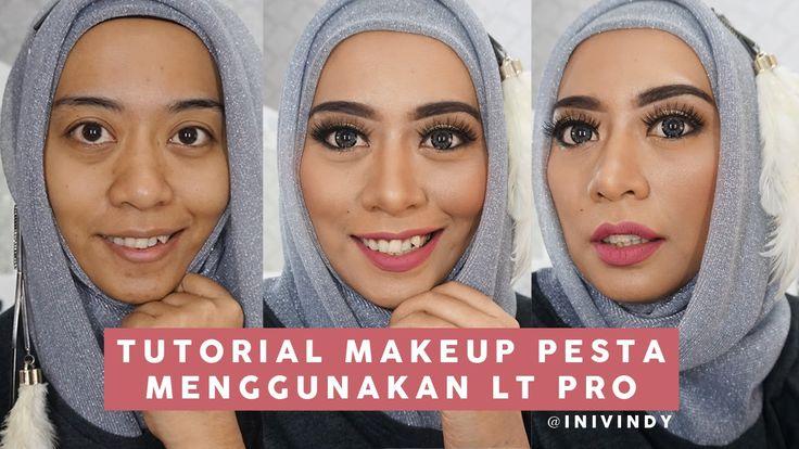 One Brand Makeup Tutorial LT PRO - Tutorial Makeup ke Pesta by ini Vindy