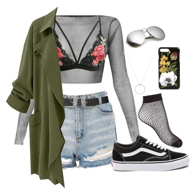 """""""#11"""" by christina-hollesen on Polyvore featuring Topshop, Vans, Miss Selfridge, Roberto Coin and Dolce&Gabbana"""