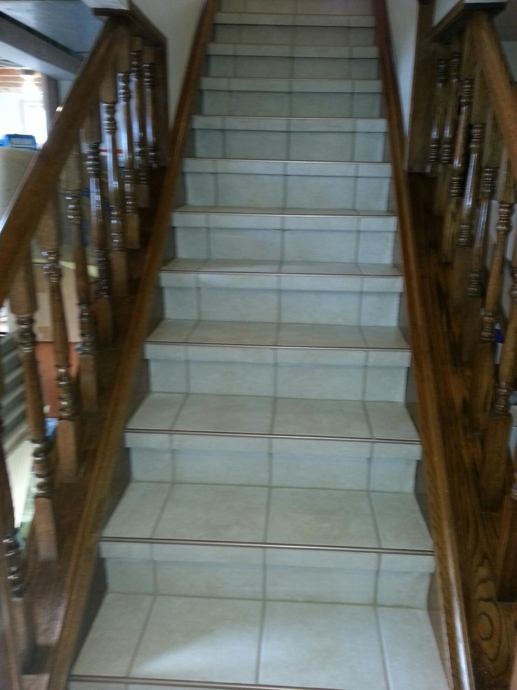 Basement Stairs Ideas: SCHWOEGLER REMODELING LLC BASEMENT STAIRS TILE DONE