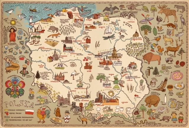 Mapy. Obrazkowa podróż po lądach, morzach i kulturach świata. - Ryms - kwartalnik o książkach dla dzieci i młodzieży