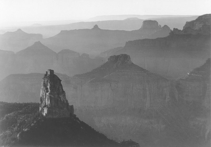 Grand Canyon National Park (http://www.archives.gov/research/ansel-adams/images/aaf03.jpg)