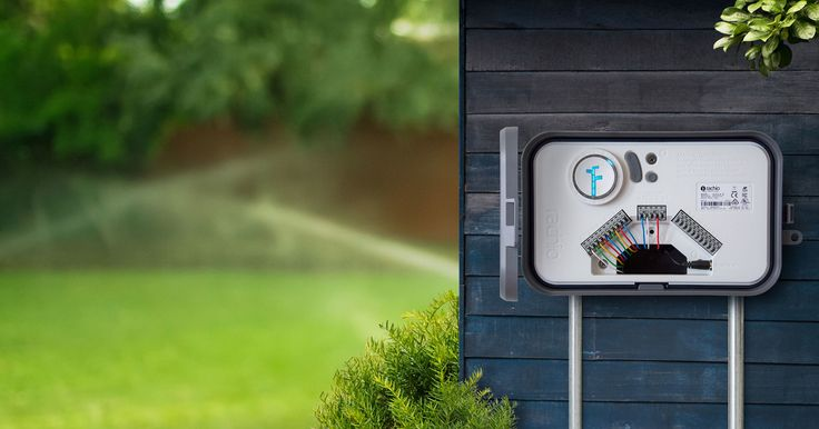 Let's say you already have an automatic sprinkler system—but it's not too smart. Even when it's pouring outside, the control box doesn't have a clue; it ju
