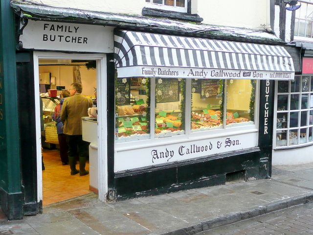 Callwoods butchers shop, Christmas Eve. Lovely memories of going to the butcher shop with my Mum and getting real meat, fresh once a week.