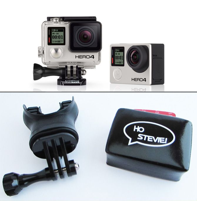 GIVEAWAY: GoPro HERO4 + Mouth Mount