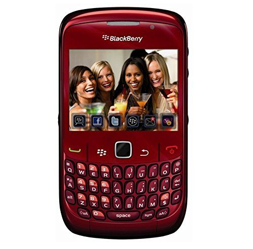 Buy BlackBerry 8520OEMRED Gemini 8520 Unlocked Phone with 2 MP Camera, Bluetooth, Wi-Fi--International Version (Red) NEW for 34.99 USD | Reusell