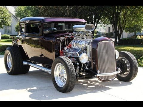 1931 Ford Model A Street Rod For Sale - YouTube