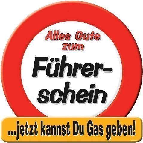 """1 RIESENSCHILD """" ALLES GUTE ZUM FÜHRERSCHEIN """" D: 50cm PAPPE  http://www.geschenkewebshop.info/produkt/1-riesenschild-alles-gute-zum-fuehrerschein-d-50cm-pappe/"""
