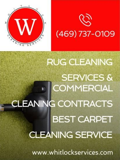 Rug cleaning services & commercial cleaning contracts = best carpet cleaning service (469) 737-0...
