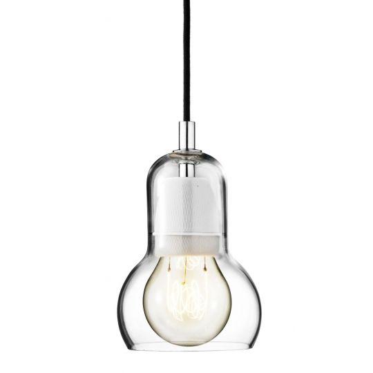 Lampa Bulb czarny kabel