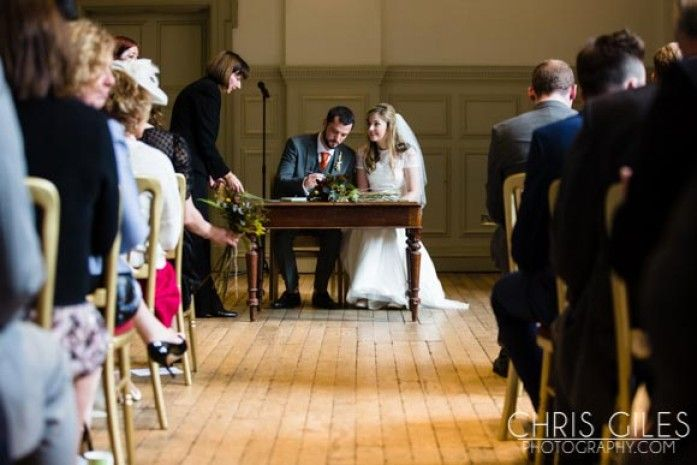 signing of the register at the RGS