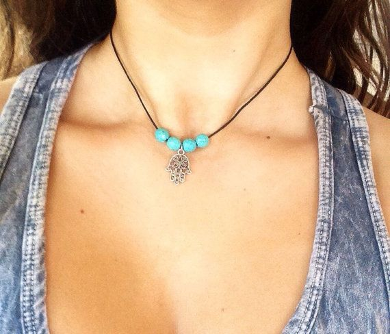 Hey, I found this really awesome Etsy listing at https://www.etsy.com/listing/230754166/bohemian-hasma-hand-turquoise-beaded
