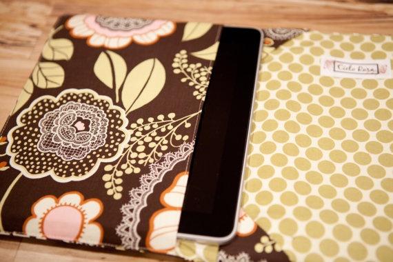 iPad cover iPad2 Cover  ipad cozy ipad case book by cielorosa, $40.00: Ipad Case, Cases Books