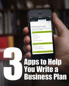 Helpful apps that guide you from brilliant business idea to an actionable plan. #entrepreneur