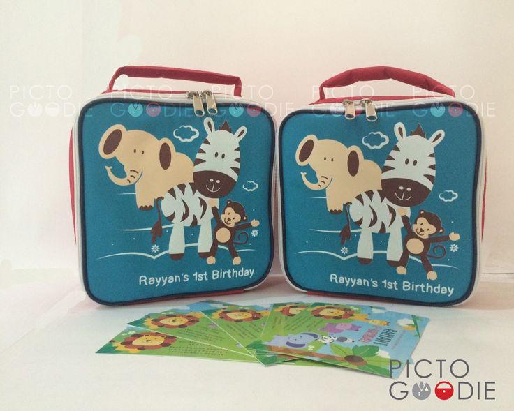 Tas Lunch Bag - Animal Theme