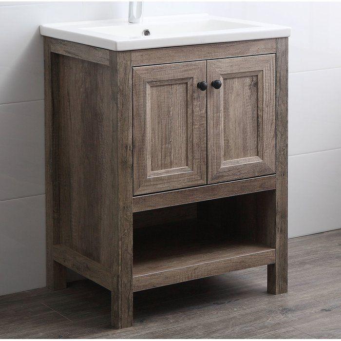 Nicholle 24 Single Bathroom Vanity Set Single Bathroom Vanity