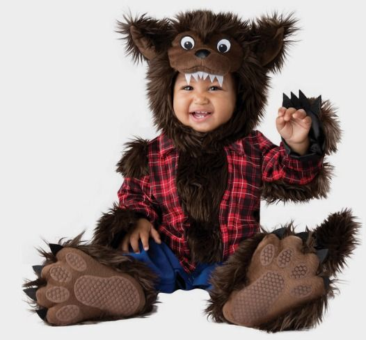 Baby Wee Werewolf Costume - http://fave.co/2diyT3v